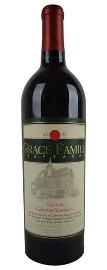 2002 Grace Family Vineyard Cabernet Sauvignon