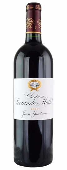 2005 Sociando-Mallet Bordeaux Blend
