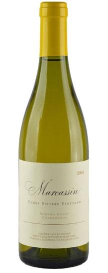 2004 Marcassin Chardonnay Three Sisters Vineyard