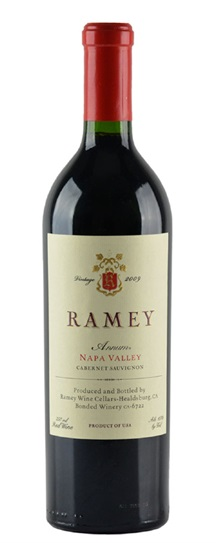 2008 Ramey Cabernet Sauvignon Annum