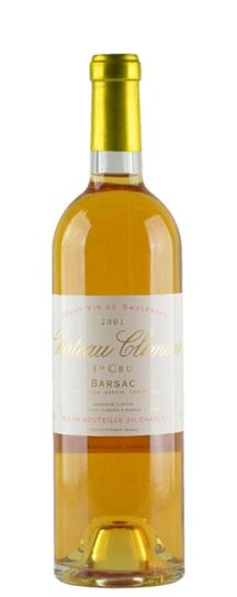 2001 Climens Sauternes Blend