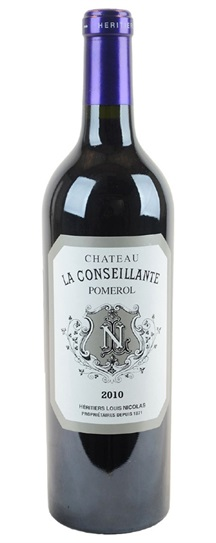 2010 Conseillante, La Bordeaux Blend