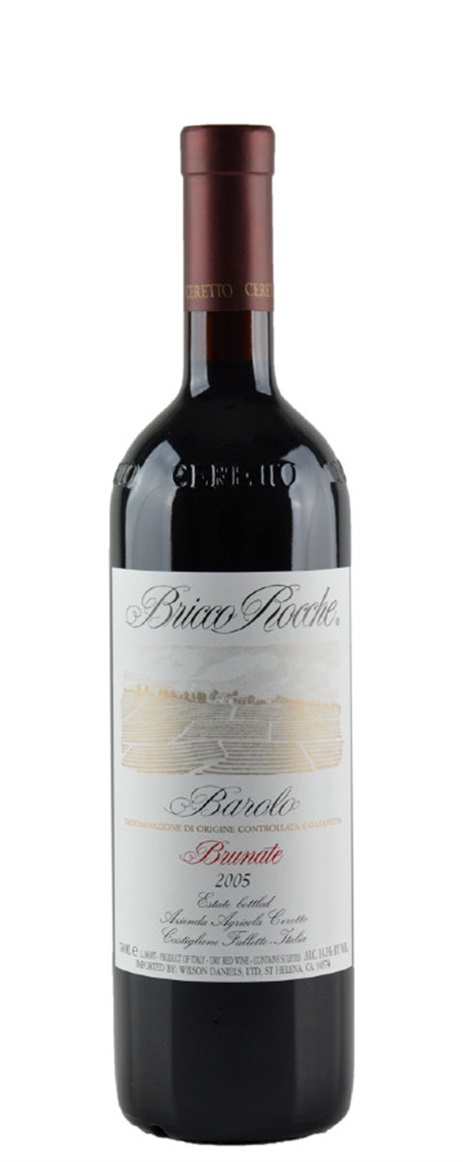 Barolo Brunate 2005 2005 Ceretto Barolo Brunate