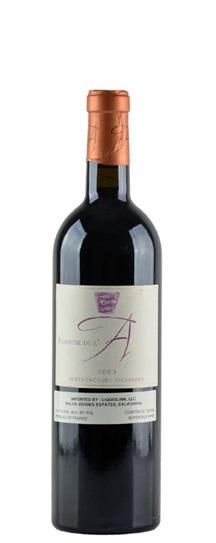 2003 de l'A, Domaine (Cotes de Castillon) Bordeaux Blend