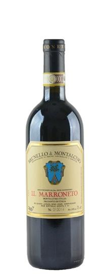 2007 Il Marroneto Brunello di Montalcino