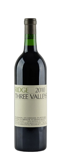 2010 Ridge Three Valleys