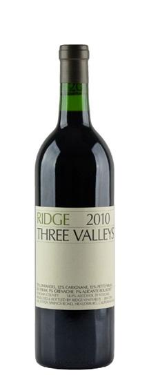 2010 Ridge Three Valleys