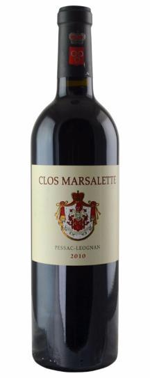 2010 Clos Marsalette Bordeaux Blend