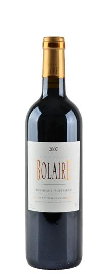 2007 Bolaire Bordeaux Superieur