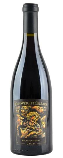2010 Ken Wright Cellars Pinot Noir Mccrone Vineyard