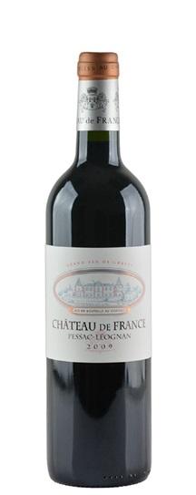 2009 Chateau de France Bordeaux Blend