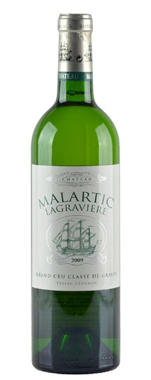 2009 Malartic-Lagraviere Blanc