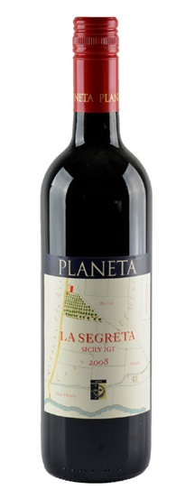 2008 La Planeta La Segreta Rosso