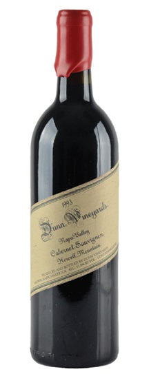 1992 Dunn Cabernet Sauvignon Howell Mountain