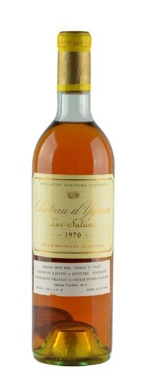1970 Chateau d'Yquem Sauternes Blend