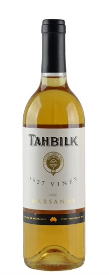 2002 Tahbilk, Chateau Marsanne 1927 Vines