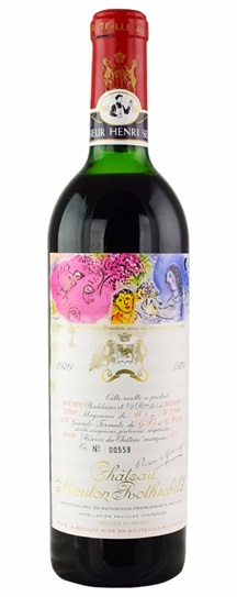 1959 Mouton-Rothschild Bordeaux Blend