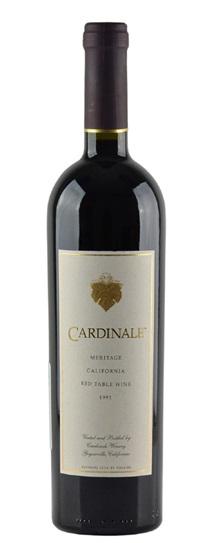 1996 Cardinale Proprietary Red Wine