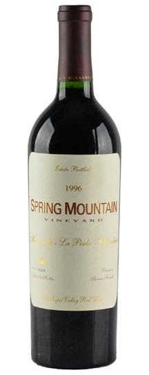 1993 Spring Mountain Vineyard Miravalle la Perla Chevalier Proprietary Red Wine