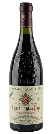 1998 Milliere, Domaine La Chateauneuf du Pape Vieilles Vignes