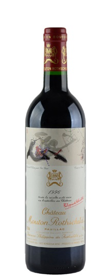 1996 Mouton-Rothschild Bordeaux Blend