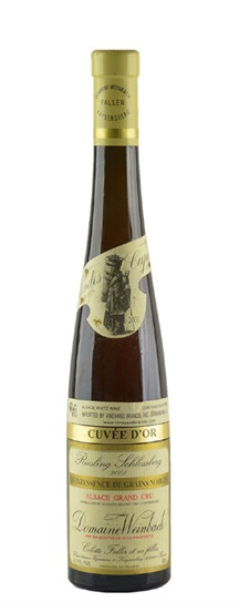 2001 Weinbach, Domaine Riesling Grand Cru Schlossberg Quintessence de Grains Nobles