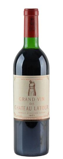 1969 Latour, Chateau Bordeaux Blend
