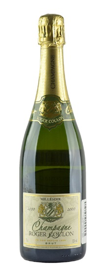 2000 Coulon, Roger Champagne Brut