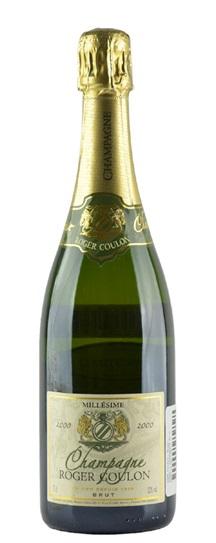 2000 Coulon, Roger Champagne Brut