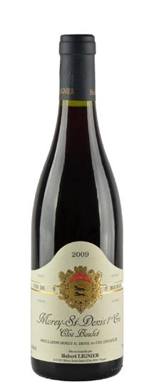 2009 Lignier, Domaine Hubert Morey St Denis Premier Cru Clos Baulet