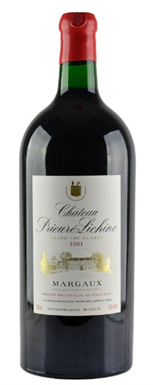 1981 Prieure-Lichine Bordeaux Blend