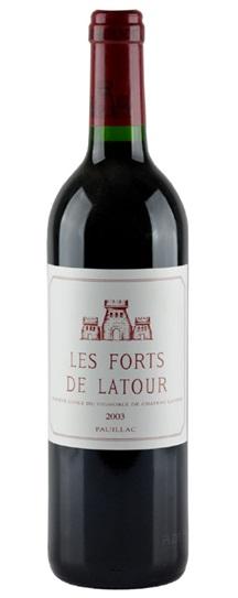 2003 Forts de Latour, Les Bordeaux Blend