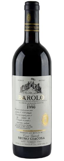 1986 Giacosa, Bruno Barolo Villero di Castiglione Falletto