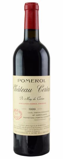 1999 Certan de May Bordeaux Blend