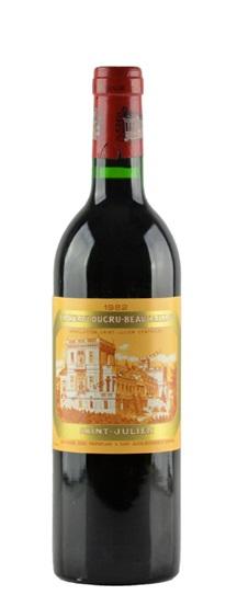 1982 Ducru Beaucaillou Bordeaux Blend