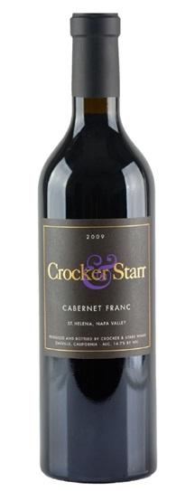 2009 Crocker and Starr Cabernet Franc