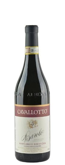 2006 Cavallotto, F Ili Barolo Riserva Bricco Boschis Vigna San Giuseppe