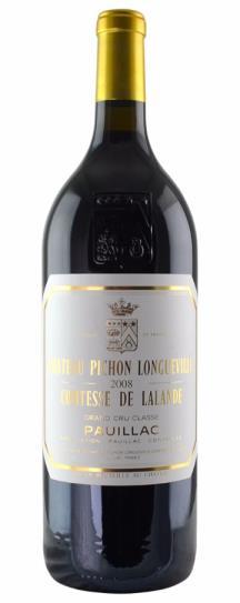 2008 Pichon-Longueville Comtesse de Lalande Bordeaux Blend