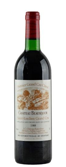 1988 Beausejour (Duffau Lagarrosse) Bordeaux Blend