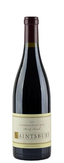 2008 Saintsbury Pinot Noir Stanly Ranch