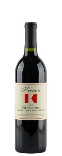 2007 Keenan, Robert Cabernet Franc