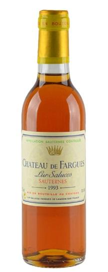1993 Chateau de Fargues Sauternes Blend