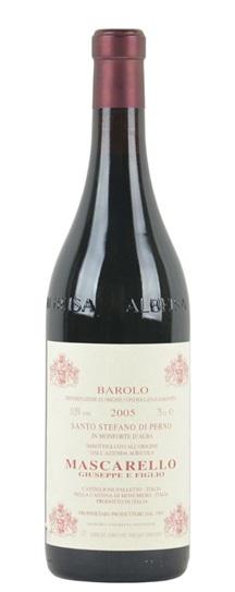 2005 Mascarello, Giuseppe Barolo Santo Stefano