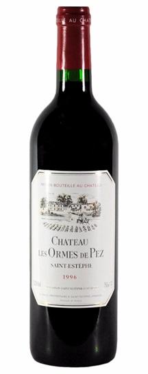 1996 Les Ormes de Pez Bordeaux Blend