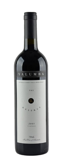 2001 Yalumba Cabernet / Shiraz The Reserve