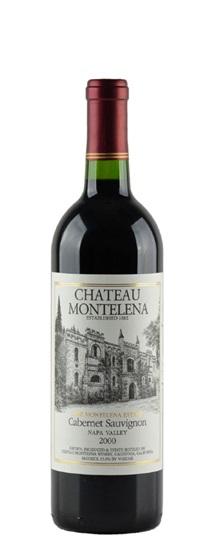 2001 Chateau Montelena Cabernet Sauvignon Estate