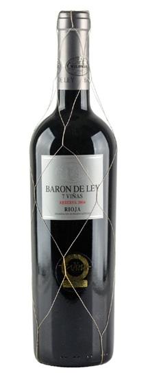 2004 Ley, Baron de Rioja Reserva 7 Vinas