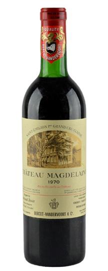 1971 Magdelaine, Chateau Bordeaux Blend