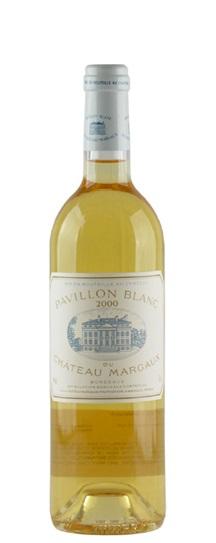 2000 Margaux, Pavillon Blanc du Chateau Bordeaux Blanc