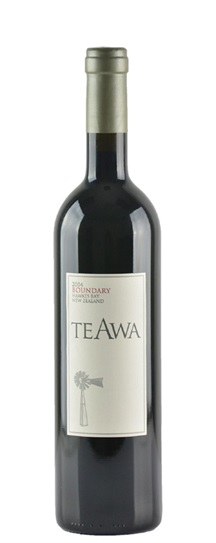 2004 Te Awa Merlot-Cabernet Boundary